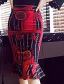 ieftine Fuste de Damă-Pentru femei Φούστα & Φόρεμα Șic & Modern Fuste - Multicolor / Imprimeu reactiv