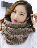 cheap Fashion Scarves-Women's Basic Infinity Scarf - Solid Colored / Fall / Winter