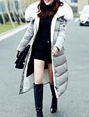 cheap Leggings-Women's Daily Solid Colored Long Padded, Cotton Long Sleeve Black / Gray XXL / XXXL / XXXXL