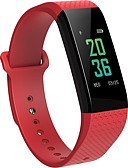 cheap Smartwatches-Smart Bracelet Smartwatch B12 for iOS / Android Blood Pressure Measurement / Calories Burned / Touch Screen / Exercise Record / Distance Tracking Pulse Tracker / Pedometer / Call Reminder / Activity