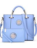 preiswerte Kleider-Damen Taschen PU Bag Set 2 Stück Geldbörse Set Reißverschluss Rote / Purpur / Himmelblau