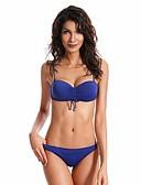 cheap Women's Swimwear & Bikinis-Women's Bikini - Solid Colored Modern Style Thong