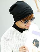 baratos Chapéus de Moda-Homens Suéter, Floppy - Tricotado Sólido