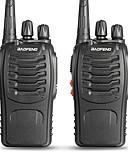 tanie Zestawy ubrań dla dziewczynek-BAOFENG 2 Pcs BF-888S Ręczne Wskaźnik Poziomu Baterii / Programowany za pomocą programu na PC / Uruchamianie głosowe 3KM-5KM 3KM-5KM 5 W Krótkofalówka Dwudrożne Radio / 400-470MHz / VOX