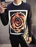 cheap Men's Hoodies & Sweatshirts-Men's Long Sleeve Sweatshirt Print Round Neck