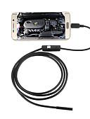 abordables Ropa Interior y Calcetines de Hombre-jingleszcn 5.5mm usb endoscopio cámara 10m cable duro a prueba de agua ip67 inspección cámara de serpiente boroscopio para android pc