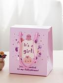 preiswerte Gastgeschenk Boxen & Verpackungen-Quader Kartonpapier Geschenke Halter mit Geschenkboxen - 12st