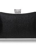 povoljno Haljine za majku mlade-Žene Gumbi / Kristalni detalji Večernja torbica Kristalne vrećice od kristalnog kamena Umjetna koža Pink / Red / Navy Plava