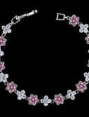 ieftine Rochii de Damă-Pentru femei Diamant sintetic Brățară - Argilă Brățări Mov Deschis / Rosu / Roz Pentru Nuntă Petrecere