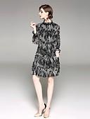 preiswerte Damen Kleider-Damen Hülle Kleid - Druck Ständer