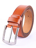 cheap Women's Belt-Men's Work Waist Belt - Solid Colored