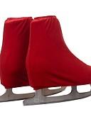 abordables Robe de Patinage-Collants de Patinage Artistique Tous Patinage Bas Rouge de Rose Bleu Ciel Bourgogne Spandex Entraînement Compétition Tenue de Patinage Couleur Pleine Patinage Artistique