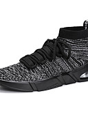 cheap Fashion Belts-Men's Mesh Spring / Summer Comfort Sneakers Running Shoes Black / Gray / Red