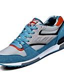 זול חולצות פולו לגברים-בגדי ריקוד גברים PU סתיו נוחות נעלי אתלטיקה שטח כחול כהה / כחול בהיר