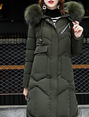 cheap Women's Downs & Parkas-Women's Going out Long Padded - Solid