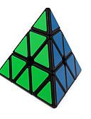 baratos Camisolas e Pijamas Femininos-Rubik's Cube QI YI Pyramid Cubo Macio de Velocidade Cubos mágicos Cubo Mágico Adesivo Liso Dom Unisexo
