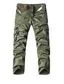 זול מכנסיים ושורטים לגברים-בגדי ריקוד גברים כותנה צ'ינו מכנסיים טלאים