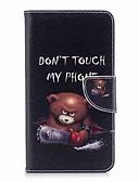 זול חולצות לגברים-מגן עבור Huawei Mate 10 lite Mate 10 מחזיק כרטיסים ארנק עם מעמד נפתח-נסגר מגנטי כיסוי מלא נוצות חיה קשיח עור PU ל Mate 10 Mate 10 lite