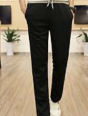 זול מכנסיים ושורטים לגברים-בגדי ריקוד גברים פעיל צ'ינו / מכנסי טרנינג מכנסיים - אחיד כחול נייבי / ספורט