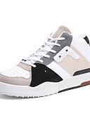 זול טישרטים לגופיות לגברים-עור אביב / סתיו נוחות נעלי ספורט קולור בלוק לבן / שחור