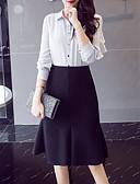 preiswerte Damen Röcke-Damen Ausgehen Bodycon Röcke - Solide
