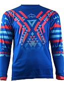 cheap Evening Dresses-2017 summer wisdom leaves motorcycle cross-country jersey own mountain bike HD downhill cross-country jersey outdoor sports long-sleeved T-shirt quick