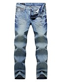 זול חולצות לגברים-בגדי ריקוד גברים כותנה ישר מכנסיים אחיד