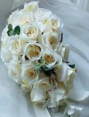halpa Kukkaistyttöjen mekot-Hääkukat Kukkakimput Ainutlaatuinen hääkoristelu Muuta Häät Juhlat Prom Materiaali 0-10 cm 0-20cm