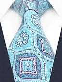 olcso Férfi nyakkendők és csokornyakkendők-férfi pártmunka műselyem nyakkendő - geometrikus színblokk jacquard