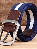 abordables Cinturones a la Moda-Hombre Legierung Cinturón de Cintura - Chic de Calle Un Color
