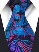 זול עניבות ועניבות פרפר לגברים-עניבת צווארון - פרחוני / קשת / סרוג מסיבה / עבודה בגדי ריקוד גברים