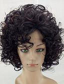 זול תחתוני גברים אקזוטיים-פאות סינתטיות Kinky Curly שיער סינטטי שיער מובהר חום פאה בינוני ללא מכסה