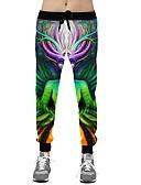 זול מכנסיים ושורטים לגברים-בגדי ריקוד גברים פעיל הארם מכנסיים דפוס
