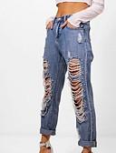 זול מכנסיים לנשים-מכנסיים אחיד ג'ינסים חמוד פעיל בגדי ריקוד נשים