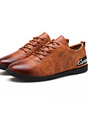 cheap Men's Tees & Tank Tops-Men's Nappa Leather / Cowhide Spring / Fall Comfort Sneakers Black / Gray / Brown