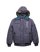 cheap Men's Downs & Parkas-Men's Going out Cotton Padded Print / Long Sleeve