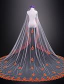 זול הינומות חתונה-שכבה אחת חתונה / ירח דבש הינומות חתונה צעיפי קתדרלה עם תחרה טול / קלאסי