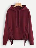cheap Women's Hoodies & Sweatshirts-Women's Cotton Hoodie - Embroidery