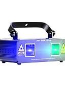 preiswerte Kleider für Junior-Brautjungfern-U'King Laser-Bühnenbeleuchtung DMX 512 Master-Slave klanggesteuert Auto für Fest/Feiertage Klub Bar Stage Party Professionell Langlebig