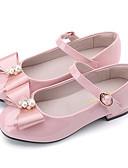 abordables Vestidos de Niña Florista-Zapatillas de mujer ador® con charol de primavera, comodidad de flor / zapatos de niña de flores pisos para negro / azul / rosa