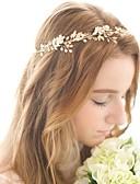 preiswerte Hochzeitsschleier-Aleación Stirnbänder mit Blütenblätter 1pc Hochzeit / Besondere Anlässe Kopfschmuck