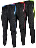 abordables Lencería de Mujer-Arsuxeo Hombre Pantalones de Ciclismo Bicicleta Prendas de abajo Resistente al Viento, Diseño Anatómico, Bandas Reflectantes Poliéster,