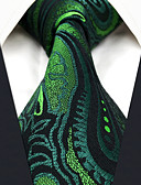 cheap Men's Ties & Bow Ties-Men's Work Basic Rayon Necktie - Floral Paisley Jacquard