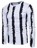 זול חולצות לגברים-צווארון עגול פאנק & גותיות טישרט - בגדי ריקוד גברים כותנה