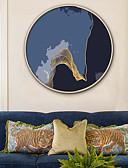 رخيصةأون زينة الكيك-تجريدي مناظر طبيعية توضيح جدار الفن,البلاستيك مادة مع الإطار For تصميم ديكور المنزل الفن الإطار غرفة الجلوس