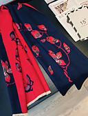 preiswerte Hochzeit Schals-Kashmirimitation Freizeitskleidung Mit Verstreute Perlen mit Blumen / Print Schals