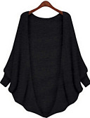 cheap Women's Sweaters-Women's Long Sleeves Cardigan - Solid Colored Halter