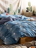 tanie Męskie spodnie i szorty-Zestawy kołdra okładka Kwiaty Bawełniano-poliestrowy / 100% bawełna Drukowane 3 elementy