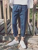 זול חולצות פולו לגברים-בגדי ריקוד גברים סגנון רחוב ג'ינסים מכנסיים אחיד