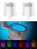voordelige Damesslips-BRELONG® 2pcs Toilet licht AAA-batterijen aangedreven Smart Menselijke lichaamsensor